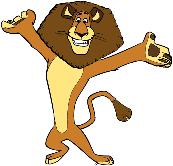Madagascar The Movie Clip Art | Cartoon Clip Art