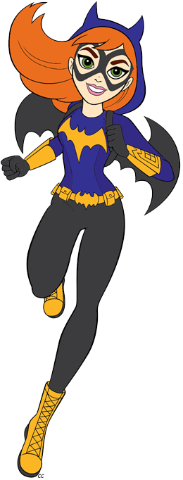 Cartoon Pictures Of Batgirl