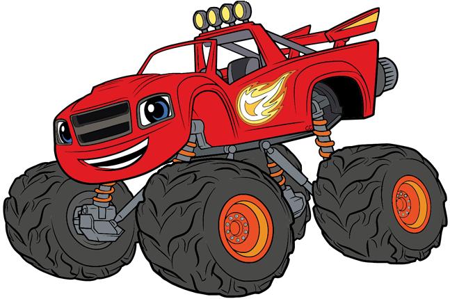 Blaze And The Monster Machines Clip Art Cartoon Clip Art
