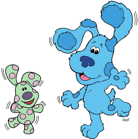Blue's Clues Clip Art | Cartoon Clip Art