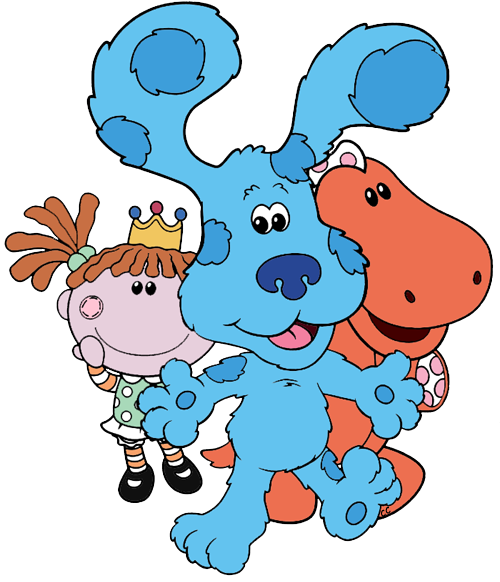 blue s clues clip art cartoon clip art rh cartoon clipart co