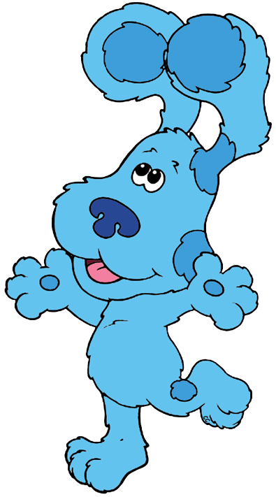blue s clues clip art cartoon clip art rh cartoon clipart co blues clues clip art free blue's clues clipart