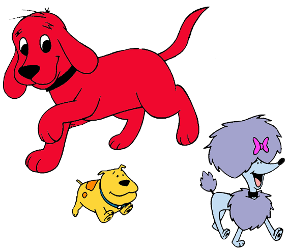 Clip Art Clifford Clipart clifford the big red dog clip art images cartoon cleo