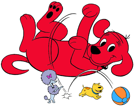 Clifford the Big Red Dog Clip Art Images - Cartoon Clip Art