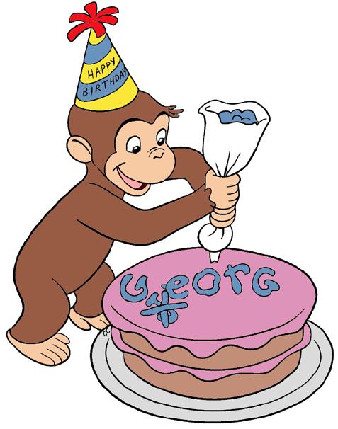 Curious George Clip Art Images - Cartoon Clip Art