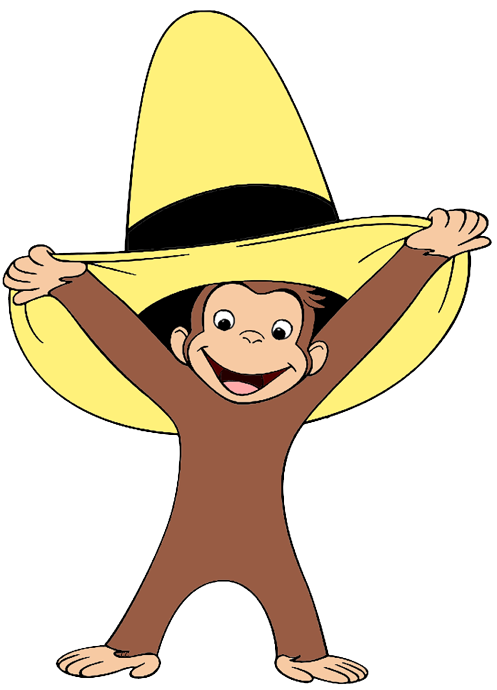 Curious George Clip Art Images - Cartoon Clip Art