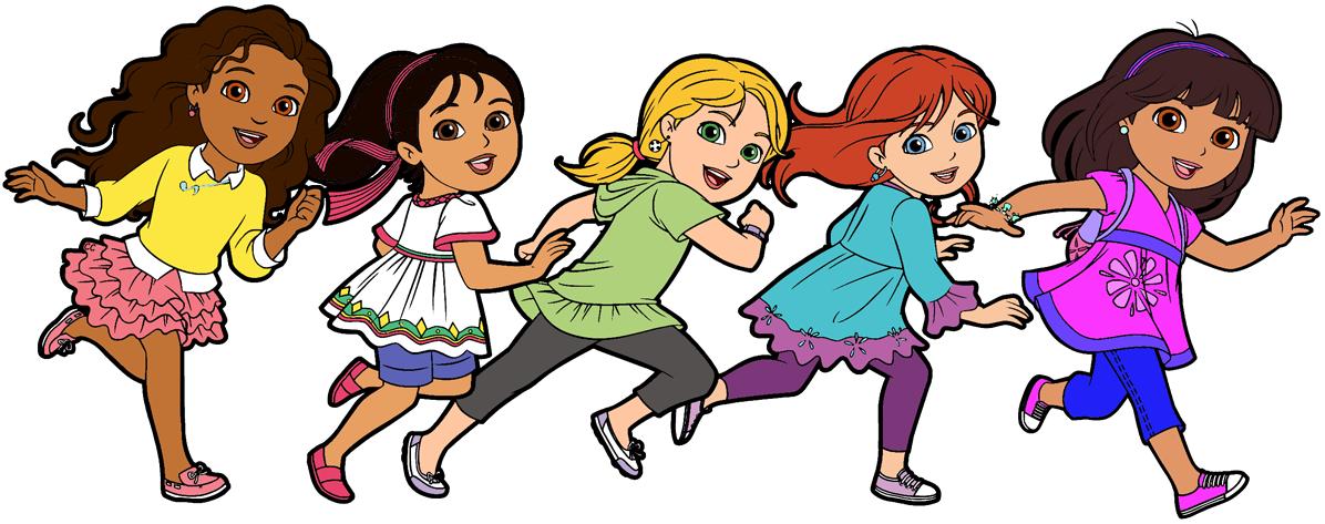 dora and friends clipart cartoon clip art rh cartoon clipart co friendship clip art quotes friendship clip art quotes