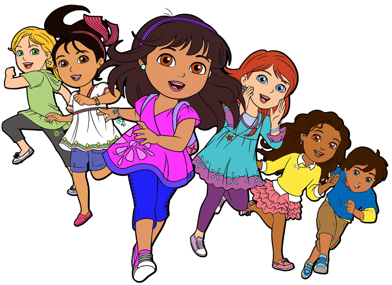 Dora and Friends Clipart Images - Cartoon Clip Art