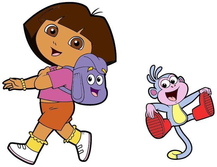 Dora The Explorer Clip Art Cartoon Clip Art