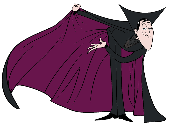 Clipart for u: Hotel Transylvania Vampire Cape Clipart