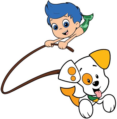 Bubble Guppies Clipart   Cartoon Clip Art