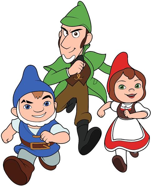 Gnome Clip Art: Sherlock Gnomes Clip Art