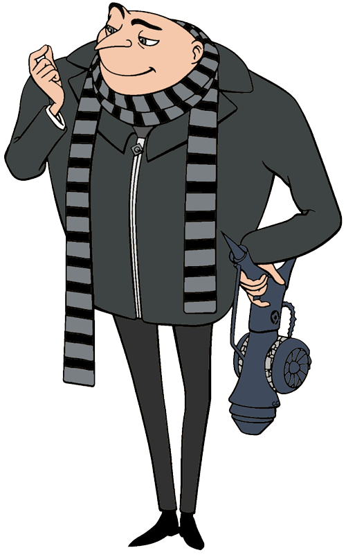 gru clipart despicable me - photo #2