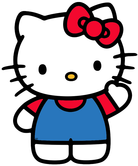 Clip Art Hello Kitty Clip Art hello kitty clip art images cartoon waving