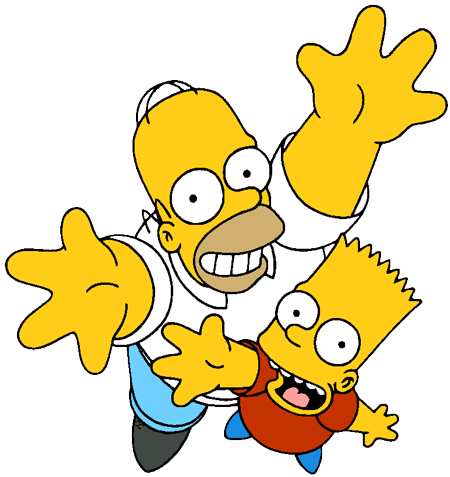 The Simpsons Clip Art | Cartoon Clip Art