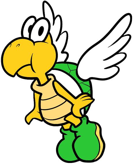 Luigi Mario Toad Princess Peach Yoshi Koopa Troopa