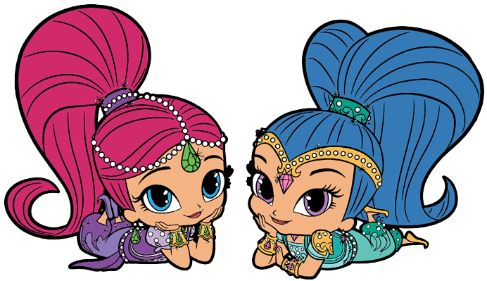 Shimmer And Shine Clipart