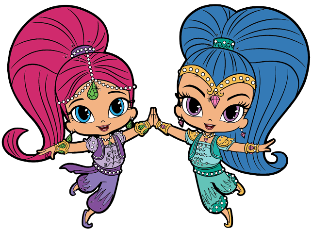 Shimmer and Shine Clipart Images - Cartoon Clip Art