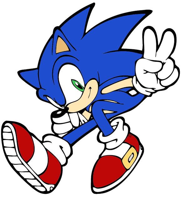 Sonic The Hedgehog Clip Art