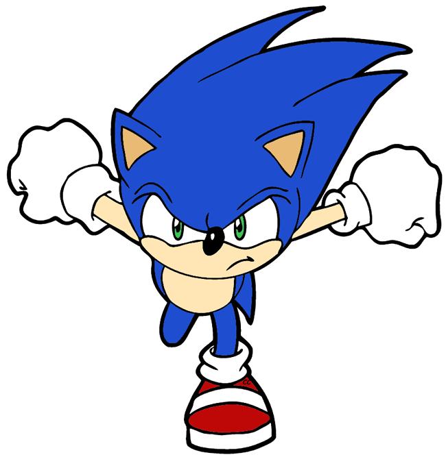 Sonic The Hedgehog Clip Art Cartoon Clip Art