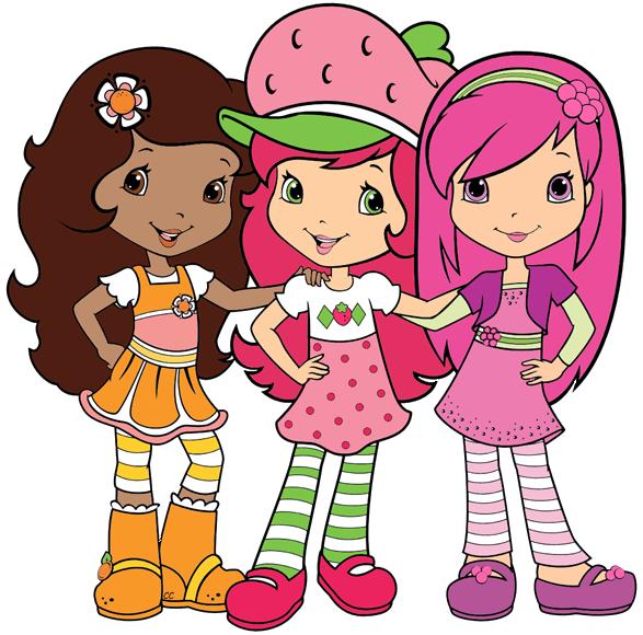 Strawberry Shortcake Friends Clip Art Cliparts