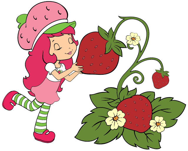 Strawberry Shortcake Berry Bitty Adventures Clip Art Cartoon