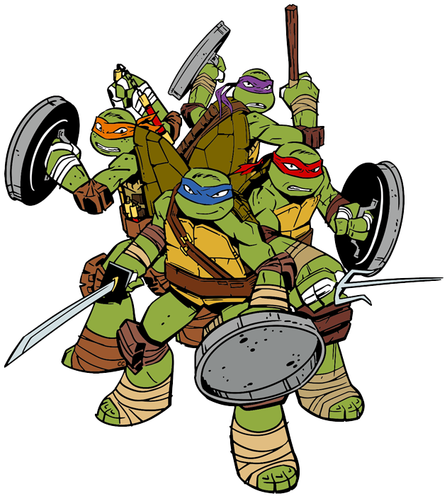 Teenage Mutant Ninja Turtles Clip Art | Cartoon Clip Art