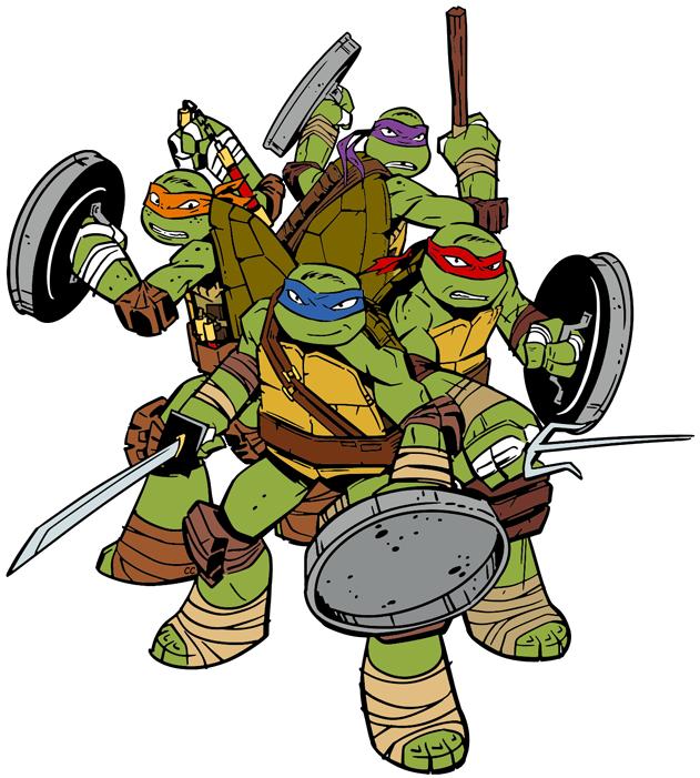 Teenage Mutant Ninja Turtles Clip Art Cartoon Clip Art